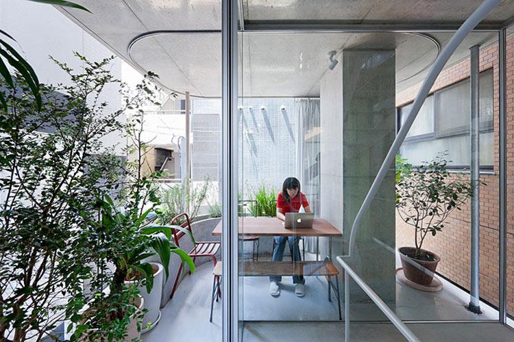 дом со стеклянными стенами фото
