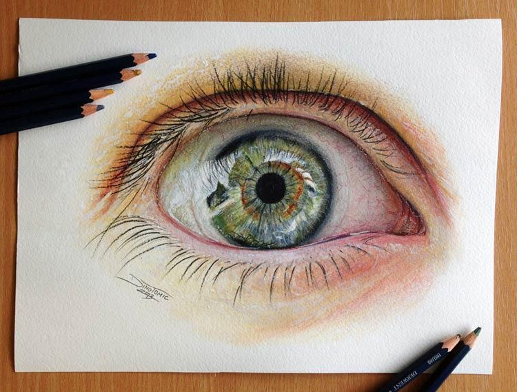 красивые рисунки цветными карандашами