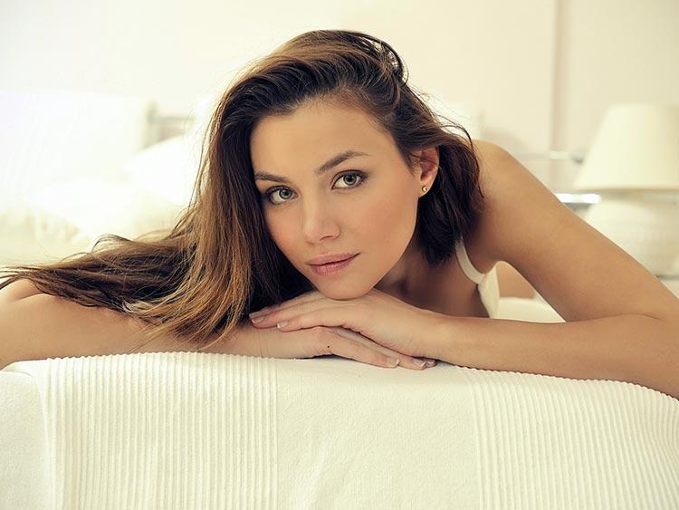 натуральная красота женщины