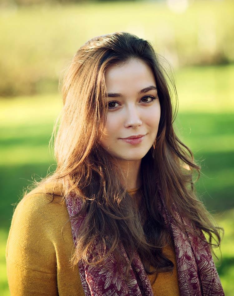 природная красота девушки фото