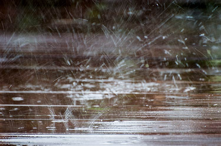 дождь со стороны фото