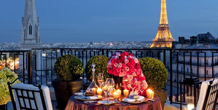 париж город любви и романтики