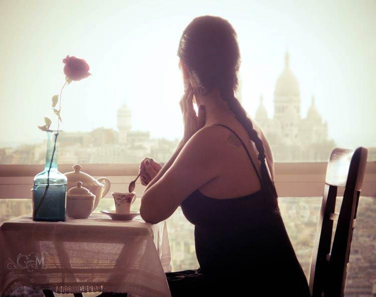 париж город романтики