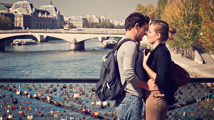 париж город влюбленных