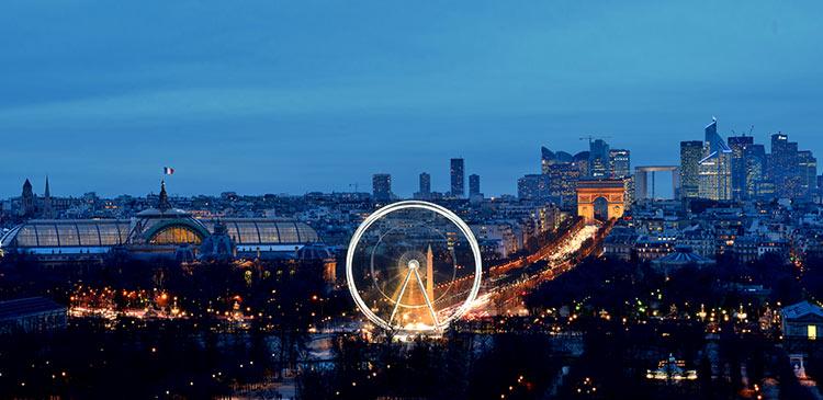 париж романтический город