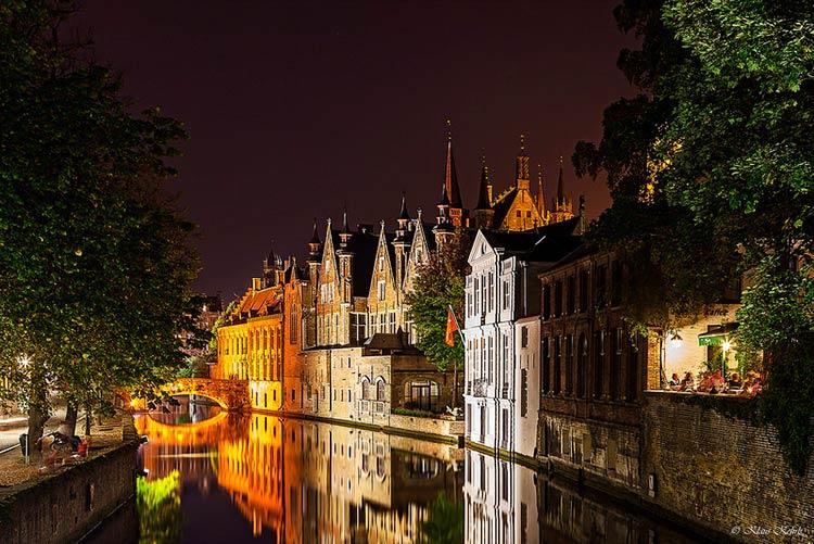 романтические города европы