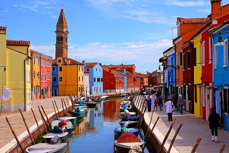 романтические места европы