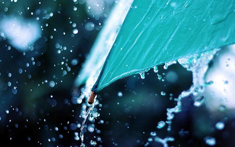 сильный дождь фото