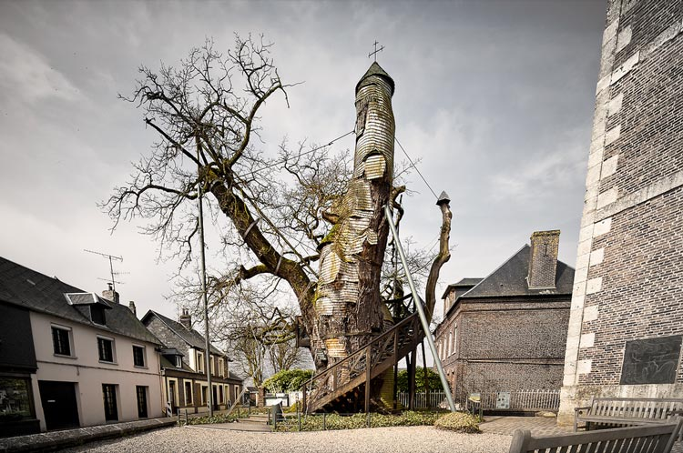 часовня из дерева