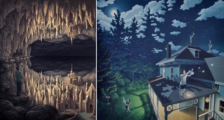 роб гонсалвес канадский художник