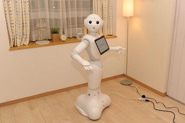 японский робот pepper