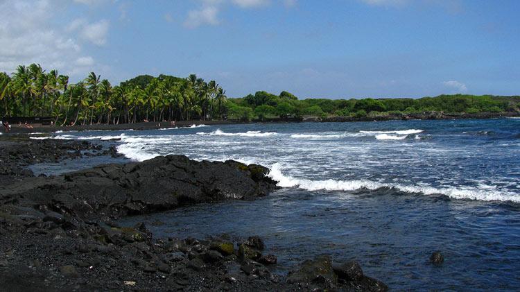 фото черные пляжи