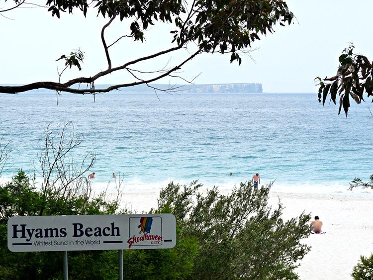пляж австралии самый белый песок