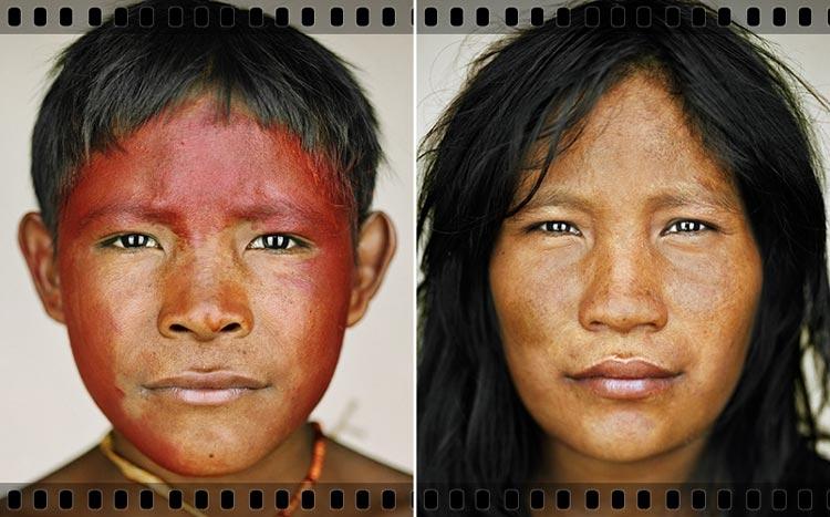дикие племена амазонки фото