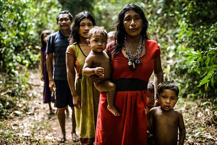 индейское племя амазонка