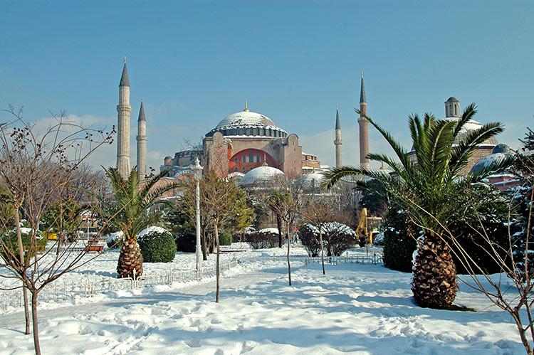 мечеть айя софия в стамбуле