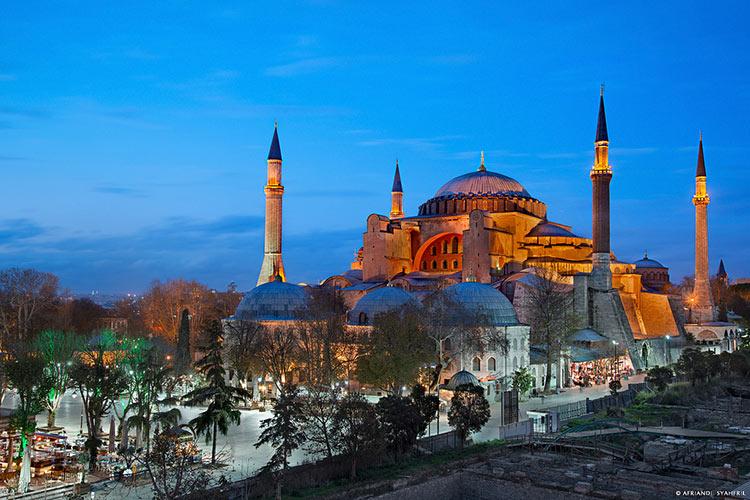 мечеть святой софии стамбул