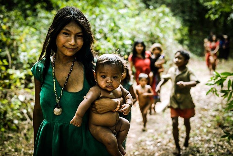 племена амазонки женщины