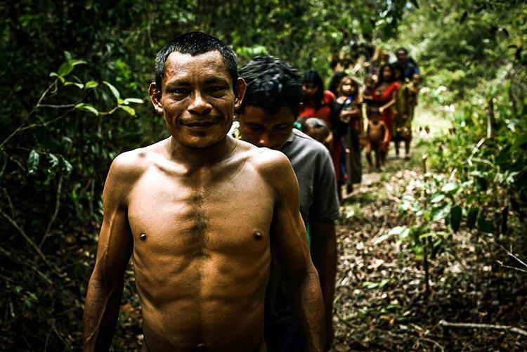 племя пираху в амазонии фотографии