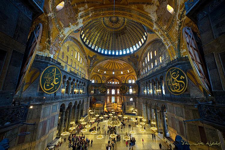 собор святой софии в константинополе фото