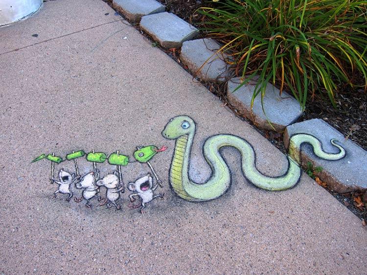 современное уличное искусство