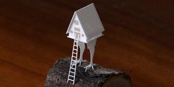 бумажное моделирование архитектура