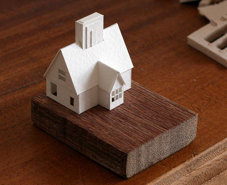бумажные модели домов