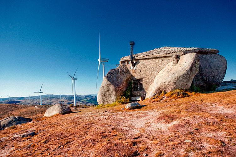 дом камень на севере португалии