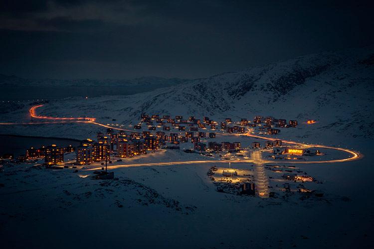 гренландия фото городов