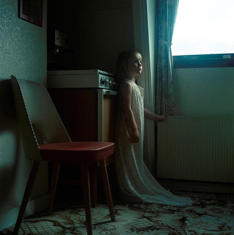 грустные портреты