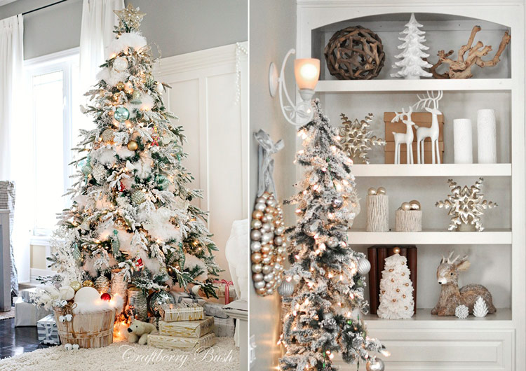 идеи как украсить елку на новый год