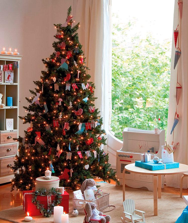 идеи украшения новогодней елки фото