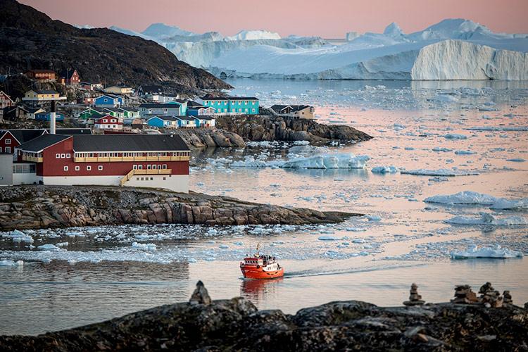 ilulissat icefjord гренландия