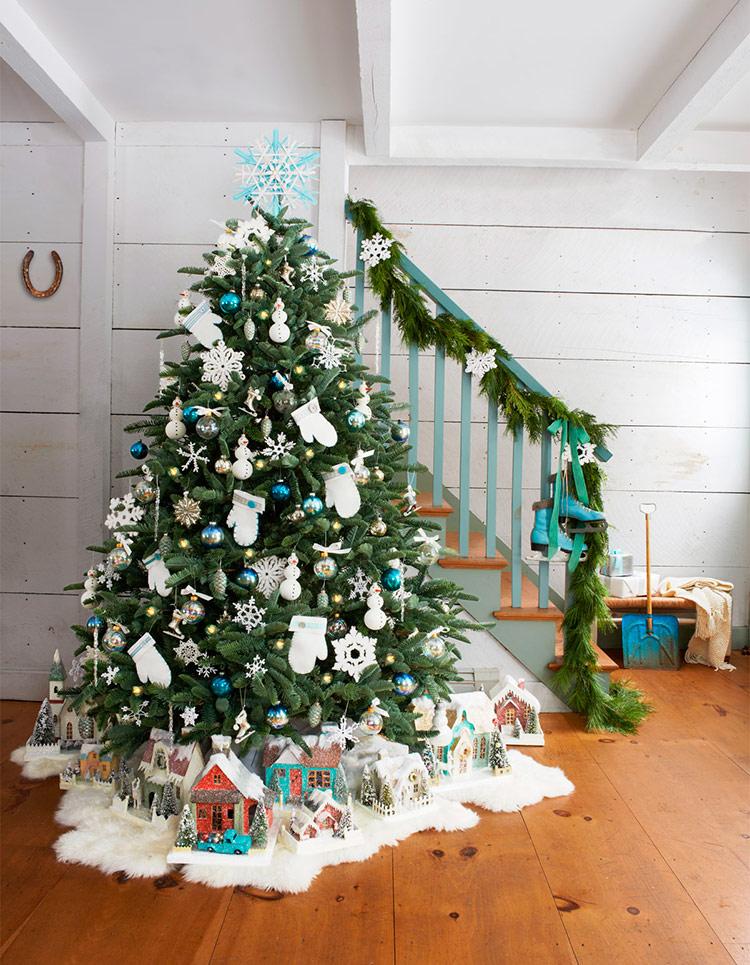 как красиво нарядить новогоднюю елку фото