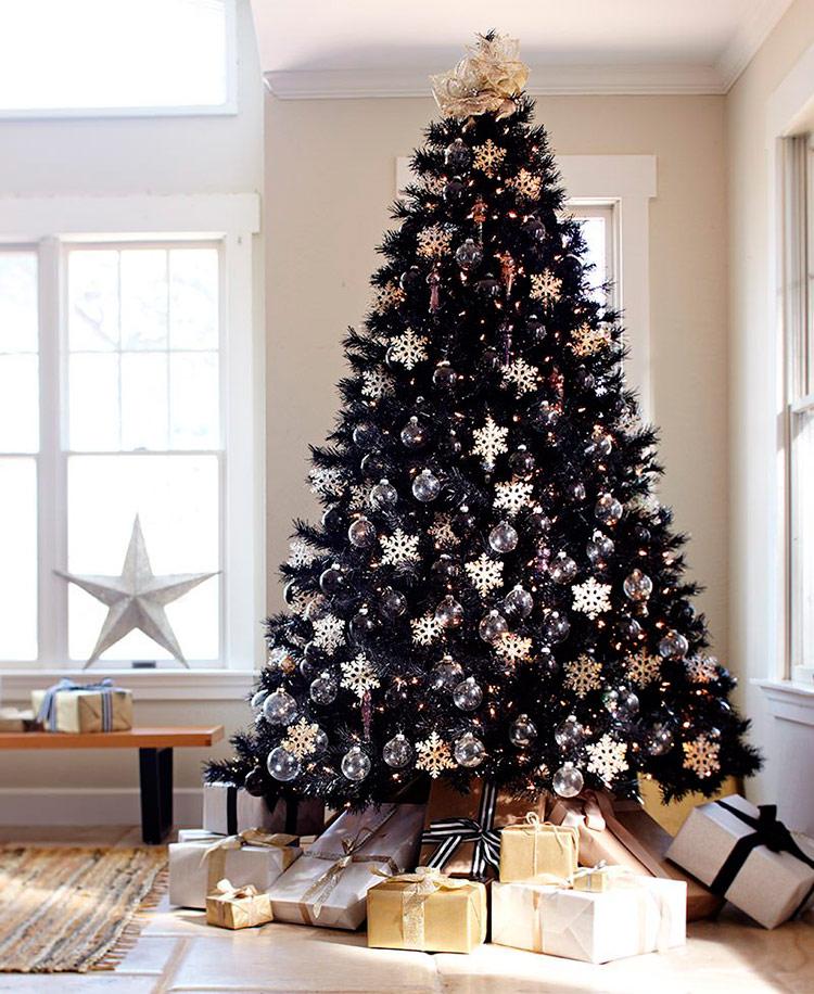 как украсить елку на новый год фото