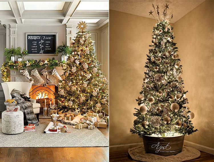 как украсить новогоднюю елку фотографии
