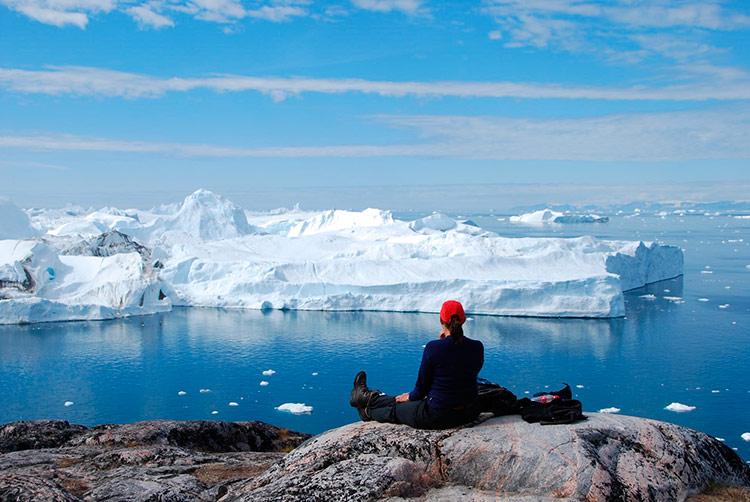 ледники гренландии фото