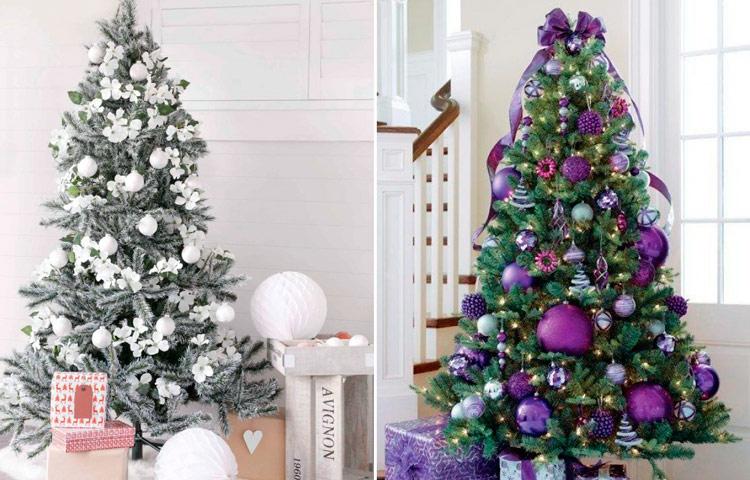 новогодние елки как украсить фото