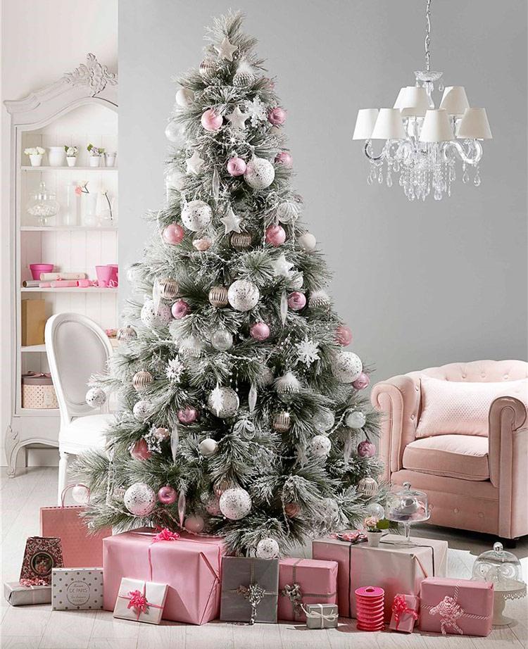 новогодние елки наряженные фото