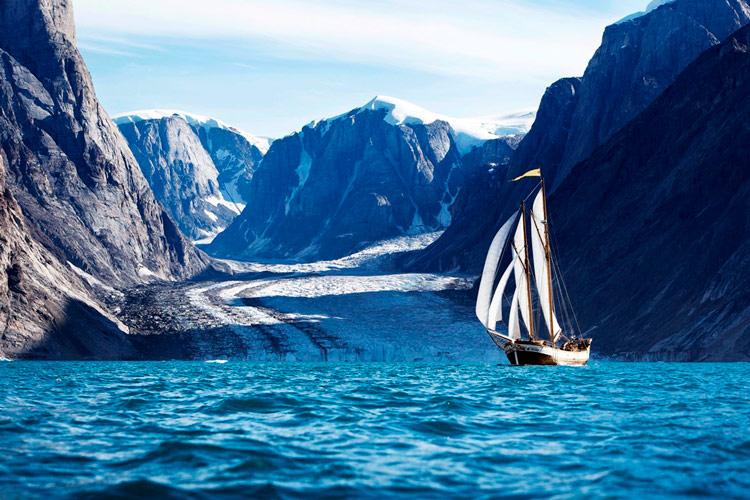 остров гренландия фото
