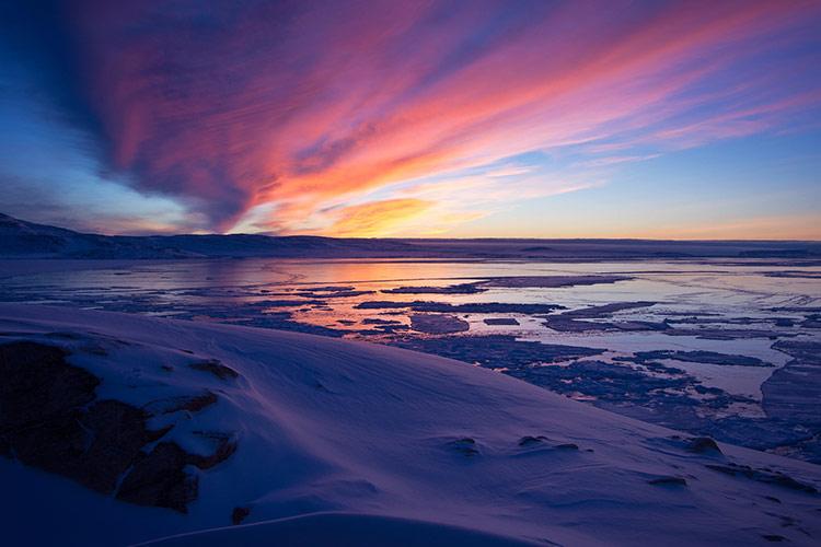 природа острова гренландия
