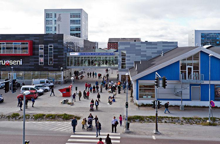 столица гренландии фото