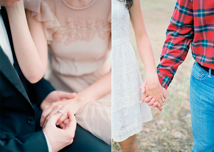 фото рук влюбленных с кольцами
