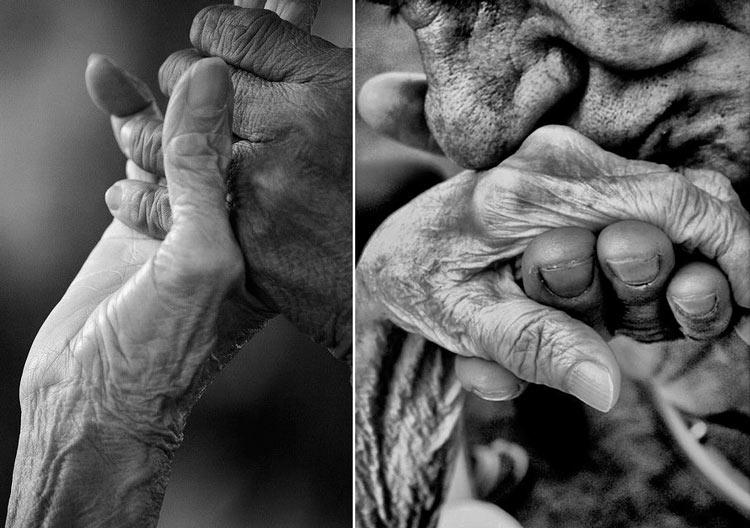 влюбленная пара руки