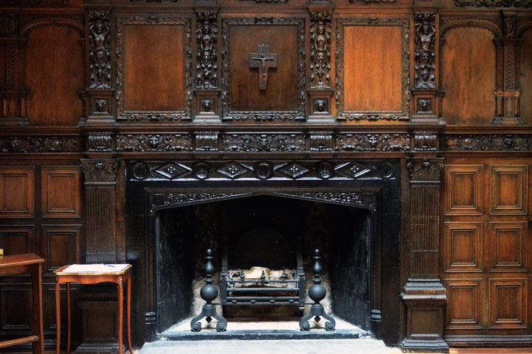 аббатство кайлмор внутри
