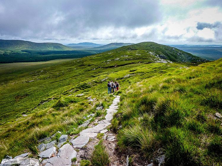 горы на территории ирландии