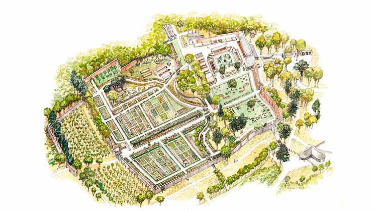 Килеморское аббатство карта