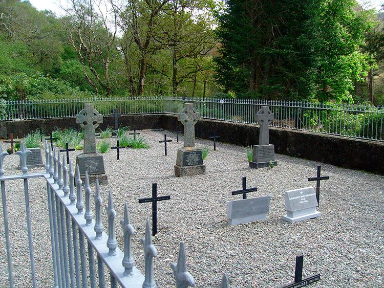 Килеморское аббатство кладбище