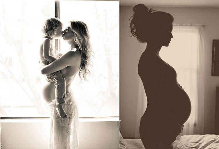 интересные фото беременных