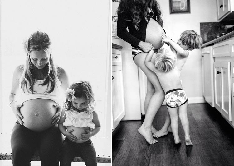интересные фотографии беременных девушек